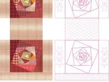 第25课:拼布手拎包图纸绘制(下)