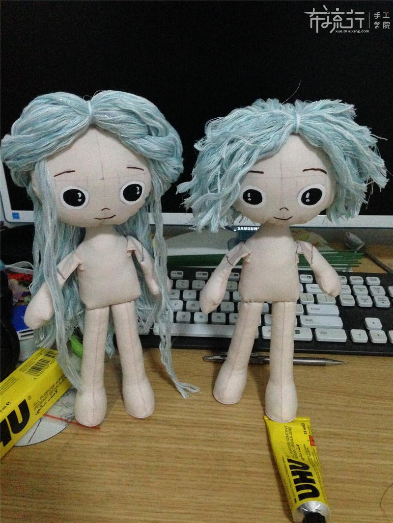 第六课:对娃表情和发型