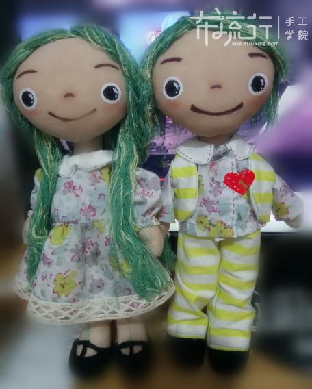 第9课:情侣对娃男娃服饰