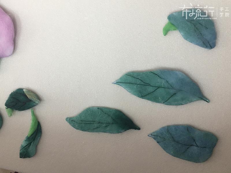 第三课:叶子和花苞的制作