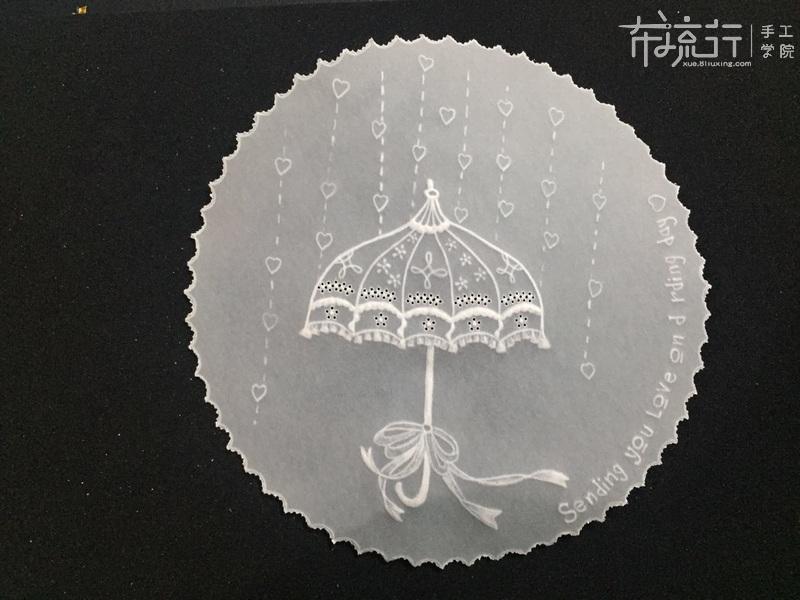 第三课:花伞制作技法