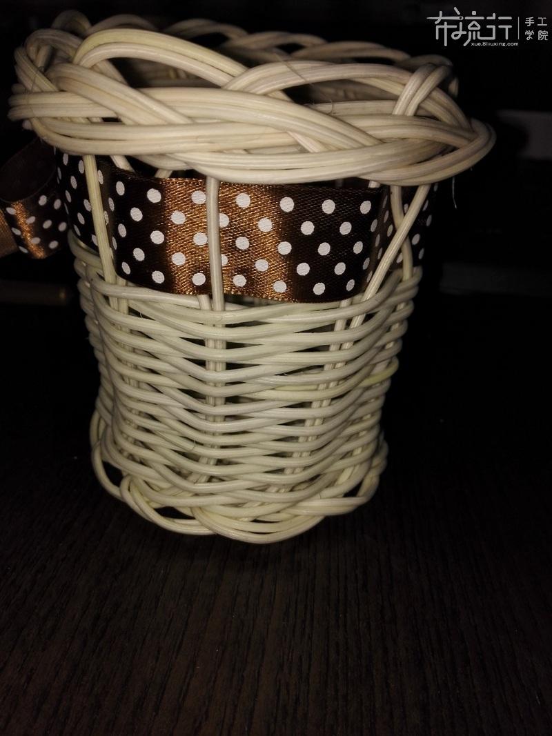 第六课:花边篮子制作