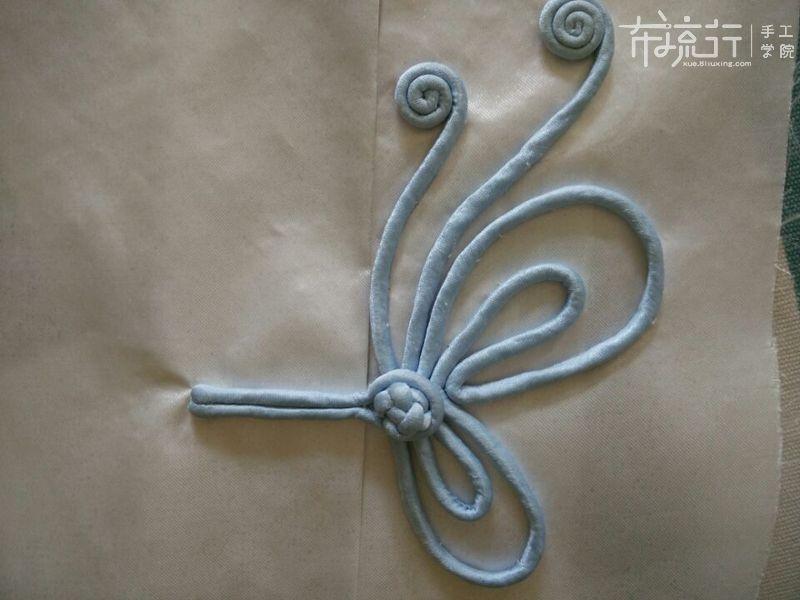 第13课:单层蝴蝶扣的制作2