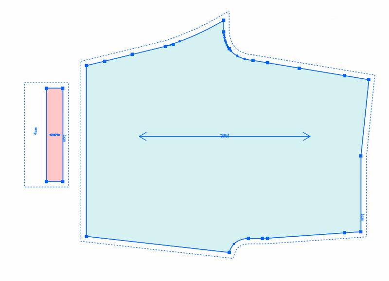 第30节:无侧缝一片式衬裤制图1