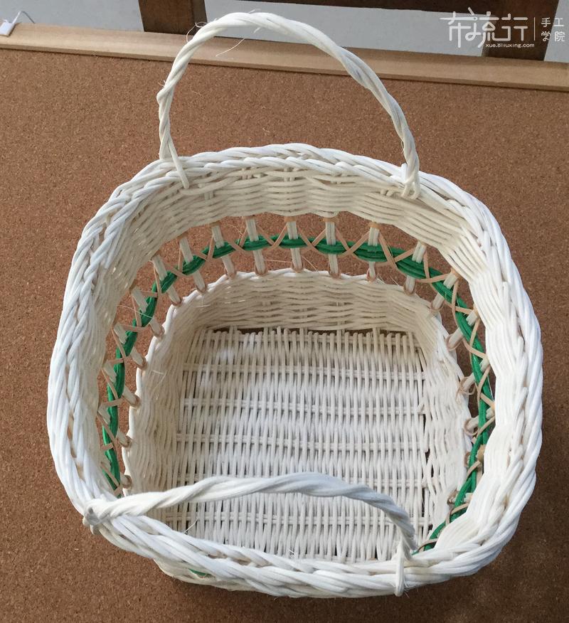 第十课:方形收纳篮制作