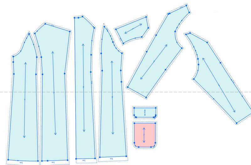 第26课:插肩羊绒大衣制图(下)
