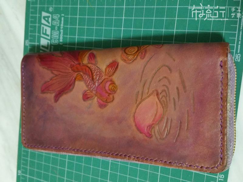 第30节:皮雕拉链手包8
