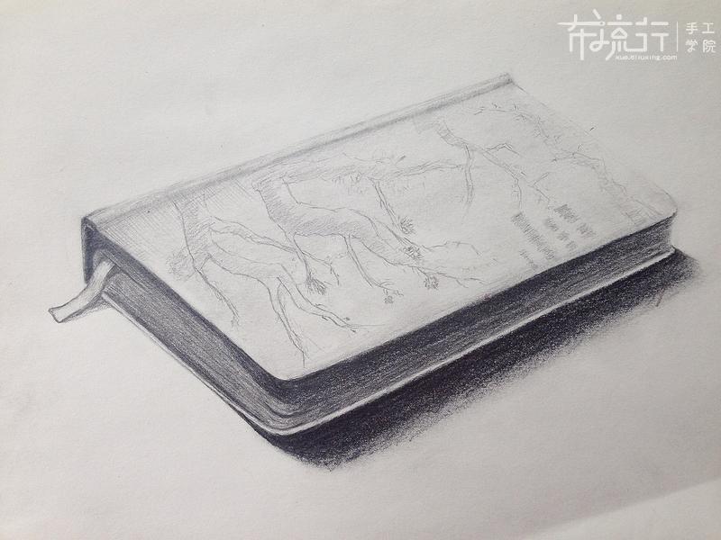 书的绘制1:封皮的绘制演示