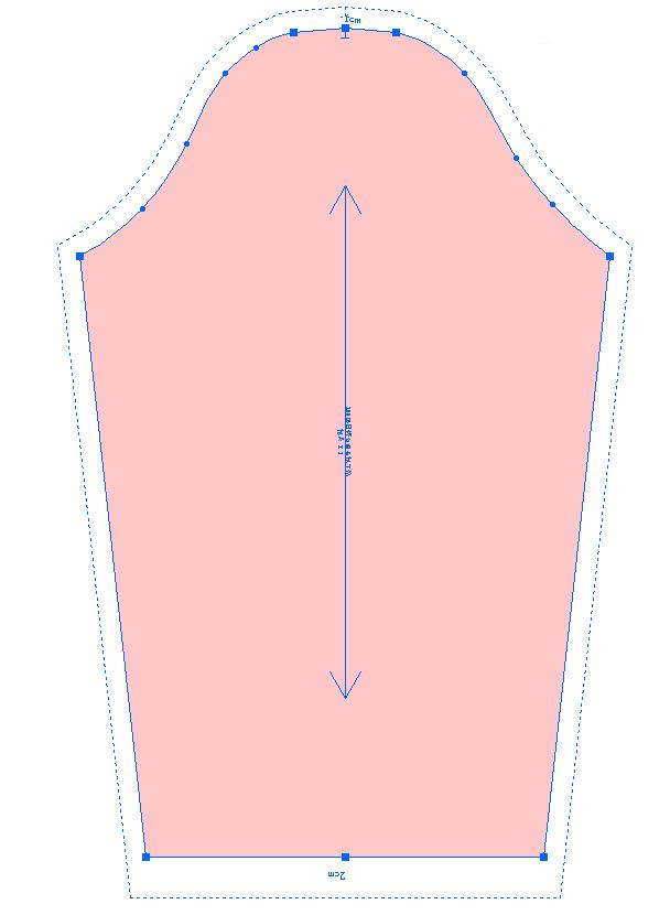第57节:圆领女童长袖T恤制图2