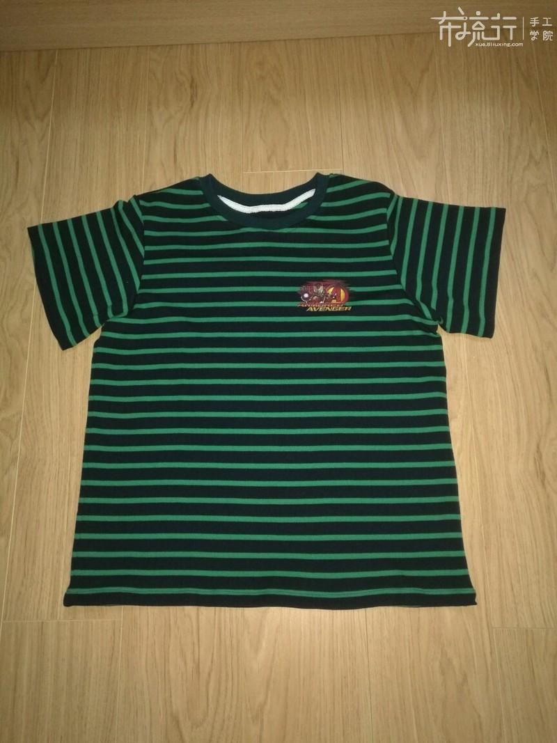 第55节:儿童半袖T恤裁剪缝纫2