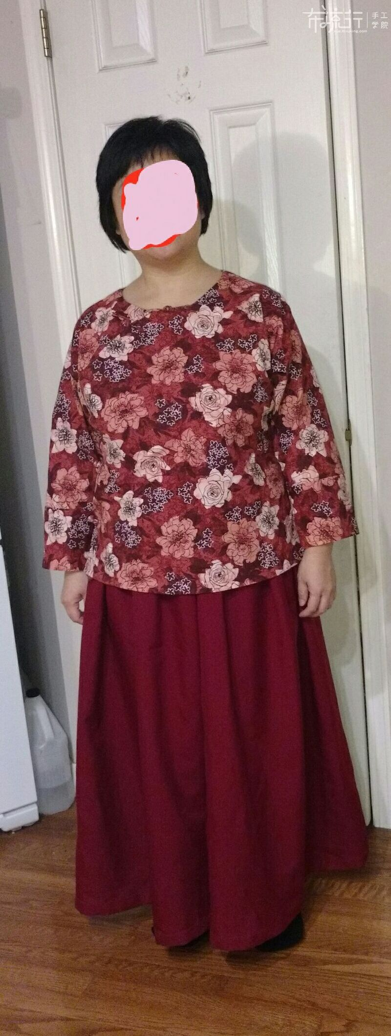 第17课:-橘色上下两件套-裙子制作