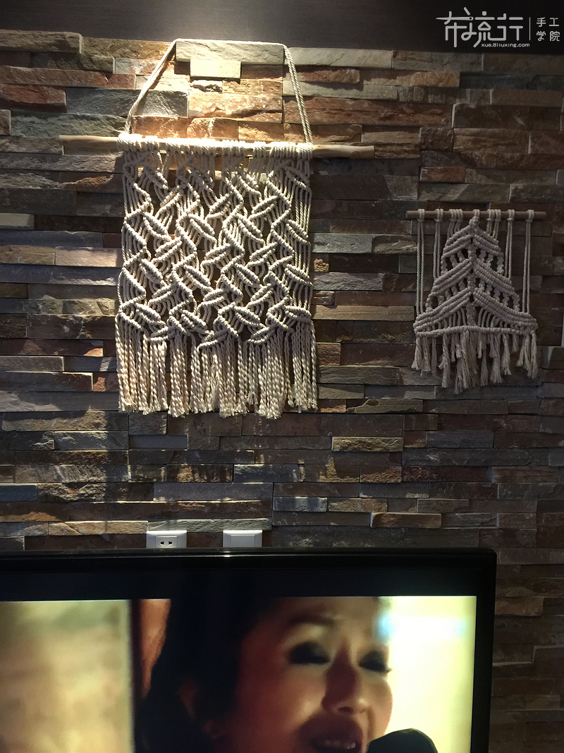 32.树叶壁挂编织(二)