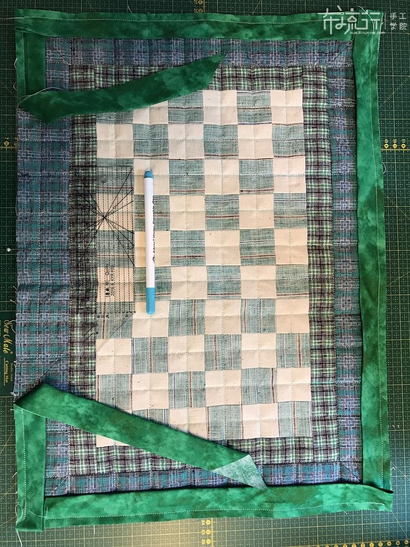第23课:直角包边之:双层布包边