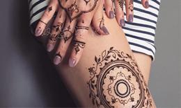 印度海娜手绘技法