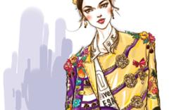 家庭服装设计师--彩铅手绘时装画